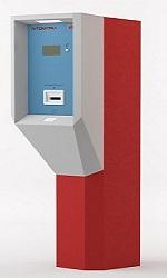 Выездная стойка Card Park-EXT устанавливается на выезде с территории парковки