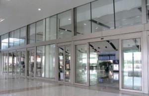 Автоматические двери КВВ установка