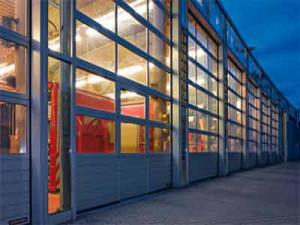 Промышленные автоматические секционные ворота Херманн