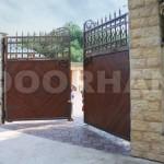 Распашные ворота Дорхан ремонт
