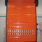 Высокоскоростные автоматические гибкие ворота для морозильных камер NERGECO Frigo
