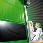 Скоростные ворота для пищевого производства  Agro