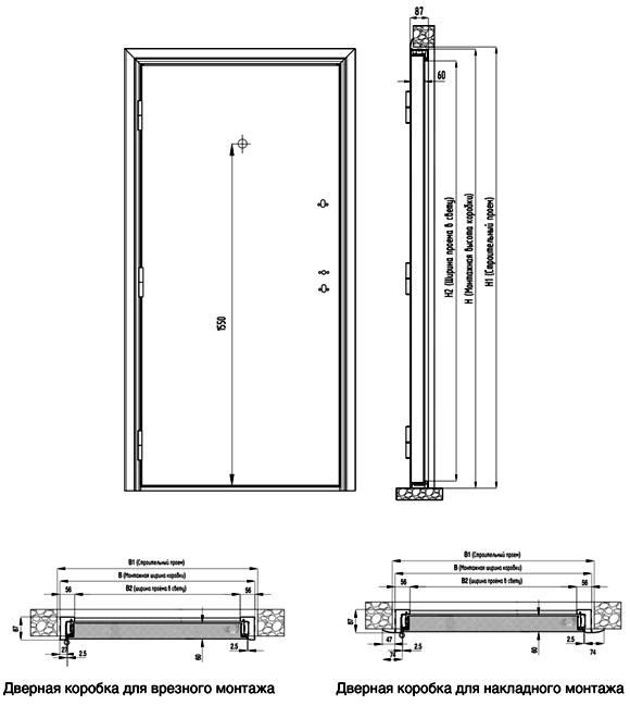 Входных стальные двери Дорхан