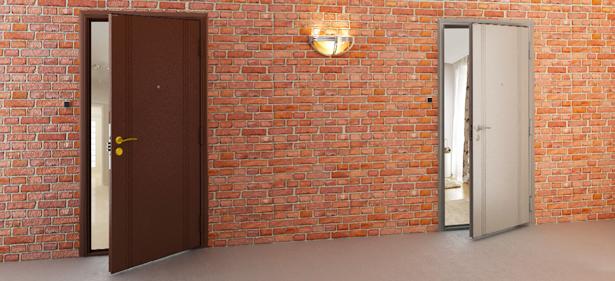 Входные защитные стальные двери Дорхан