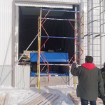 Монтаж автоматических ворот