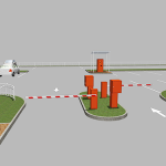 Описание оборудования для автоматических парковочной системы