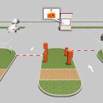 Описание оборудования автоматических парковочной системы