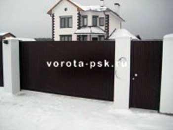 Ворота пск консольное оборудование для откатных ворот цена по ростовской области